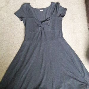 Hollister grey dress